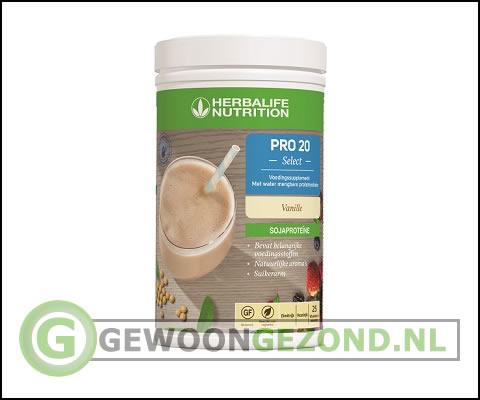 Herbalife shake glutenvrij